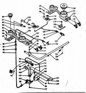Kenmore 1037337000 Gas Range Parts