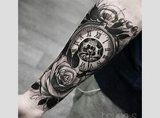 Tatoo Horloge Homme Tattoo Art