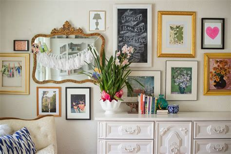 Domestic Fashionista Long Dining Room Gallery Wall