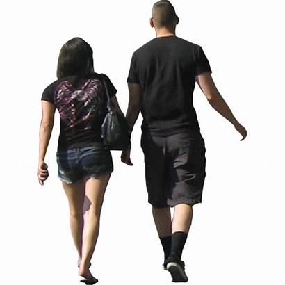 Walking Away Photoshop Couple Young Entourage Cutout