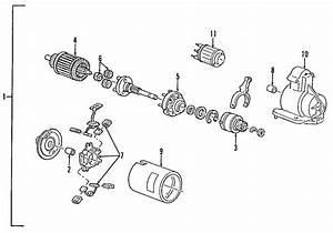 Ford Contour Starter Motor  Auto  Trans  Liter