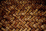 Brown Woven Straw Texture Picture | Free Photograph ...