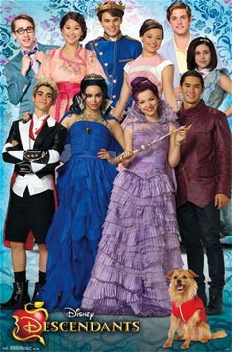 Descendants Cast  Disney Movie Poster  22x34 Tv 14016 Ebay
