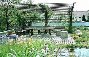 Pergola Holz Obi : sichtschutz von oben pergola im garten mit hecke 684 ~ Yasmunasinghe.com Haus und Dekorationen