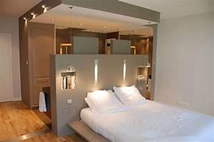 Dressing Autour Du Lit : dressing tete de lit recherche google bedroom ~ Premium-room.com Idées de Décoration