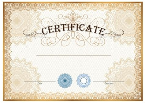 blank gift certificate templates sample templates