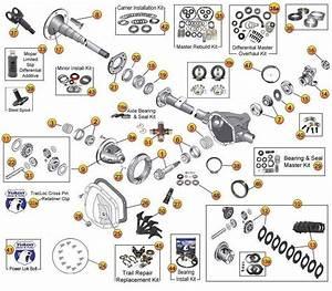 Dana 44 Rear Axle Parts For Wrangler Tj