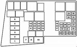Mazda 3  Bk  Fuse Box Diagram  2003