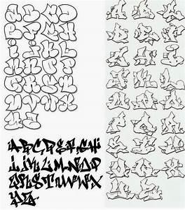 Graffiti Creator Styles: alphabet graffiti wildstyle
