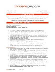 business entrepreneur resume sles danielle gregoire resume outside sales business
