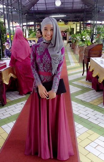 model kebaya muslimah modern remaja  gebeetcom