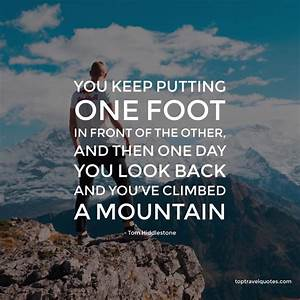 """""""You keep ... Morning Mountain Quotes"""