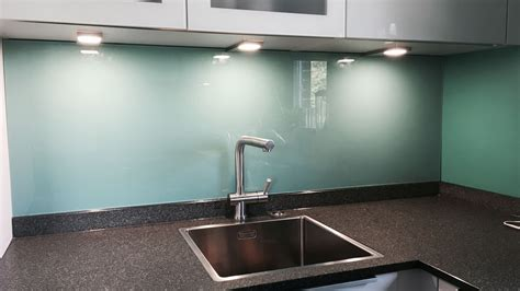 Wände Aus Glas by Glasr 252 Ckwand Als K 252 Chenr 252 Ckwand Und F 252 R Duschenw 228 Nde