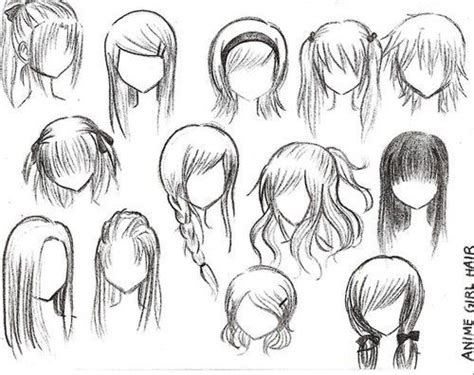 ways  draw anime hair manga work  admire