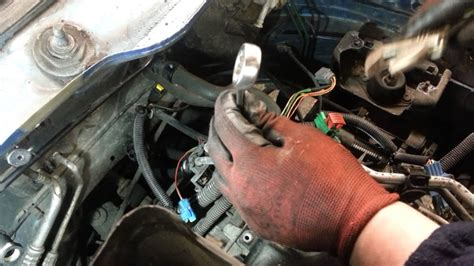 change replace power steering pressure sensor