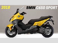 2018 New BMW C 650 Sport Scooter YouTube
