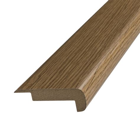 pergo stair nose shop pergo 2 37 in x 78 74 in oak stair nose floor moulding at lowes com
