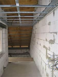 Obkládání stropu se sadrokartonovými deskami