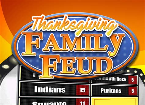 Family Feud Customizable Template by Family Feud Customizable Template Thenlpinterviews Info
