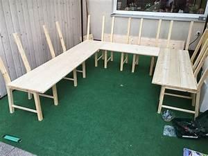 Sitzbank Mit Stauraum Selber Bauen : stickuhlinchen diy ikea hack aus 8 st hlen wird eine ~ Michelbontemps.com Haus und Dekorationen