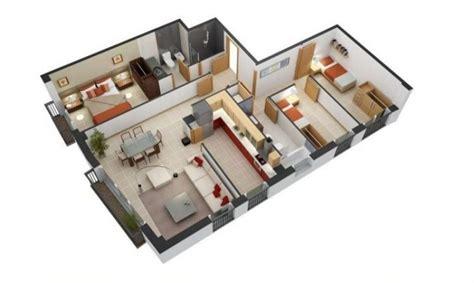 denah rumah minimalis  kamar tidur desain  lantai