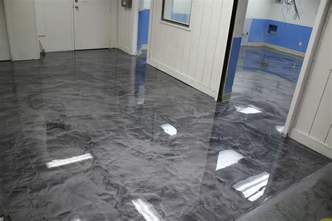 epoxy flooring metallic who says industrial has to be ugly 171 seattle surfaces