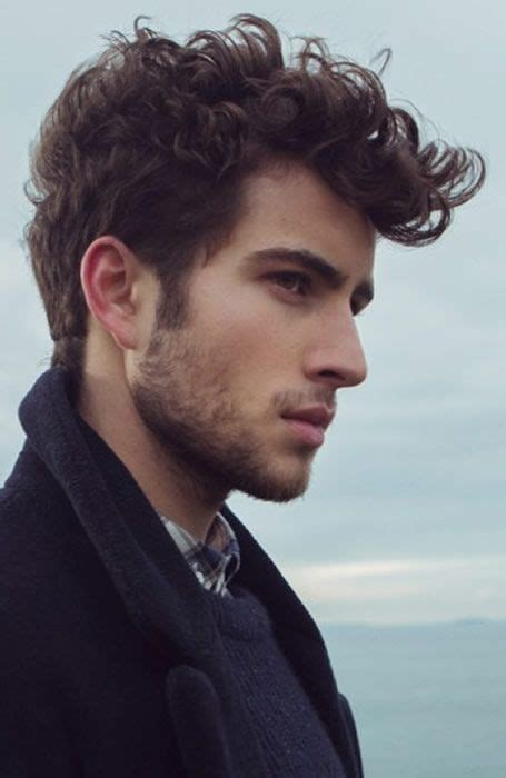 mens hairstyles curly quiff photo patrons