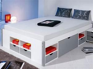 Lit Design Avec Rangement De La Marque Atylia Meuble Et