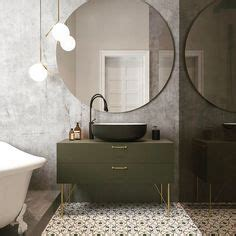 A Seductive Home With Lush Colors And Baths by Midcentury Modern Eichler Bathroom Featuring Heath Tile