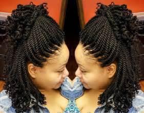 Crochet Braids with Kinky Twist Hair