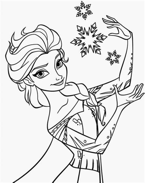 beautiful disney frozen coloring pages  instant