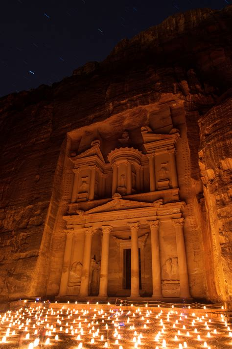 petra  night jordan middle east momentary awe travel photography blog