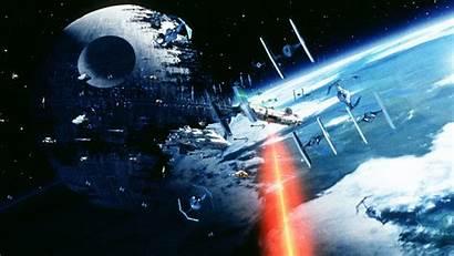 Space Battle Battles Would Wars Star Scene