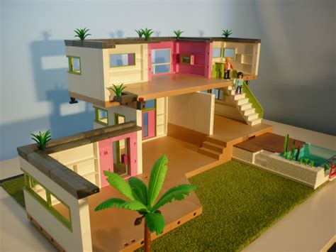 etage supplementaire maison moderne playmobil 5574 luxury villa guest room extention 5586 and pool 5575