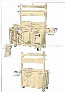 Outdoor Potting Bench Plans • WoodArchivist