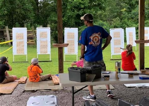 sharpshooters host competition calvert city gun club marshall