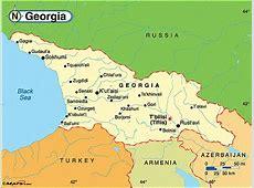 Political Map of Georgia Fotolipcom Rich image and