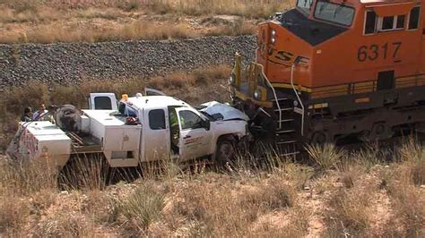 Bnsf Employee Injured In Wreck With Train