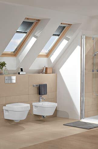 Badezimmer Fliesen Deckenabschluss by Bad Mit Dachschr 228 Ge Raum Clever Nutzen Villeroy Boch
