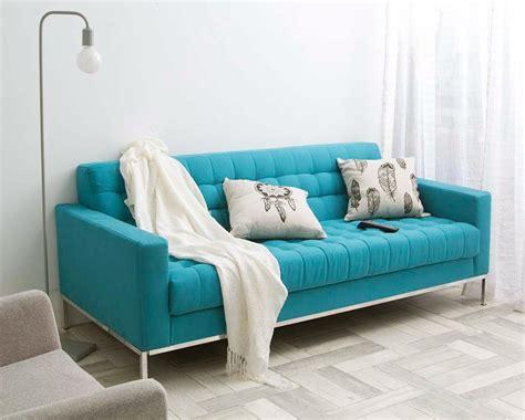 sofa turquesa sof 225 ibirapuera 2 lugares turquesa r 2 339 99 em