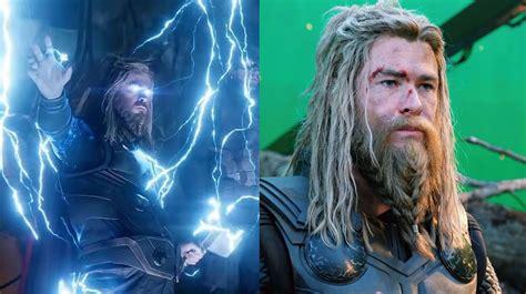 Chris Hemsworth aka Thor in Avengers: Endgame looking like ...