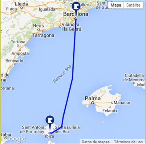 en ferry de barcelona  ibiza