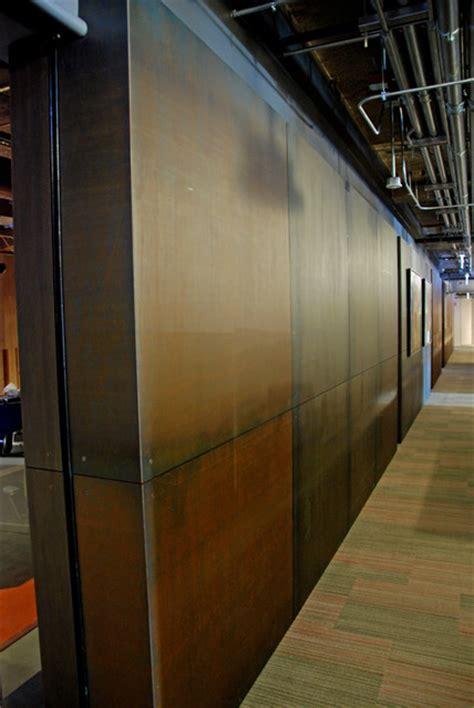 interior steel wall panels industrial  metro  brandner design