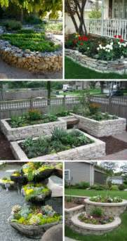 planned  making  raised bed   cedarbut  stone  beautiful love
