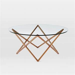 metal spindle coffee table west elm With spindle coffee table