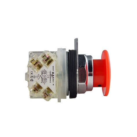 push button light switch home depot schneider electric 30 mm mushroom head maintained push