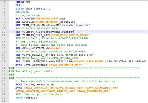 Java System Level Deployment Malformed