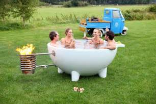 spa basket ideas contemporary mobile and wood burning hot tub digsdigs