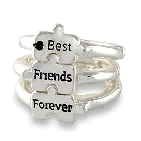 friends  puzzle piece silver tone friendship