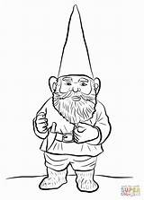 Gnome Coloring Pages Garden Gnomes Drawing Fluffy Printable Sheets Beard Gnomeo Cartoon Christmas Sheet Getdrawings Template Fantasy Sketch sketch template